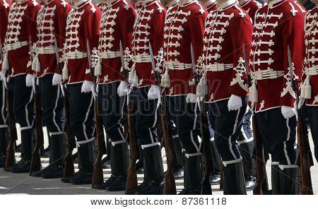 Bulgaria Sofia Guards Of Honor