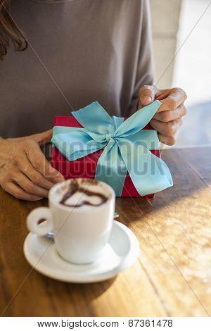 Opening Gift Romantic Coffee