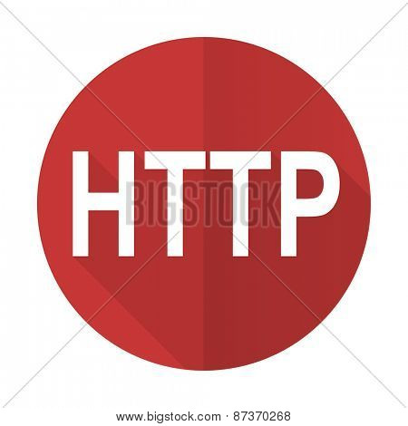 http red flat icon