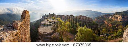 Siurana village in the province of Tarragona