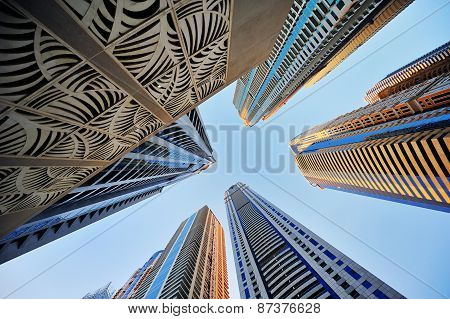 Building Skyscrapers Against The Sky