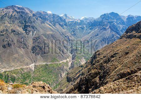 Dramatic Canyon View