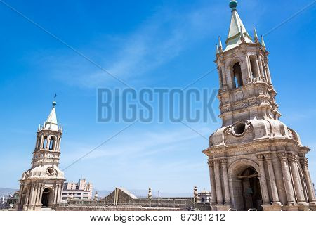 Arequipa Cathedral Spires