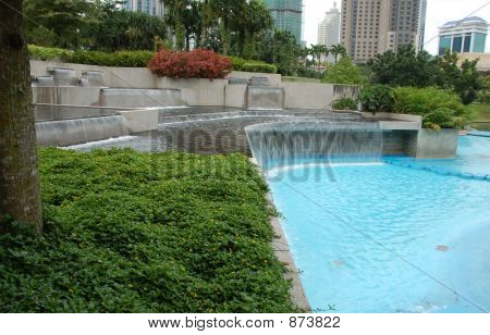 Wading Pool In Public Park3