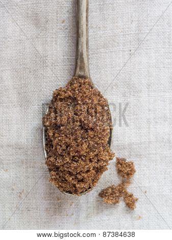 Muscovado brown sugar