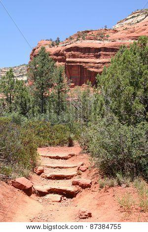 Hiking Trail Sedona Arizona