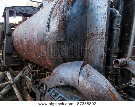 Old Locomotive From Havana