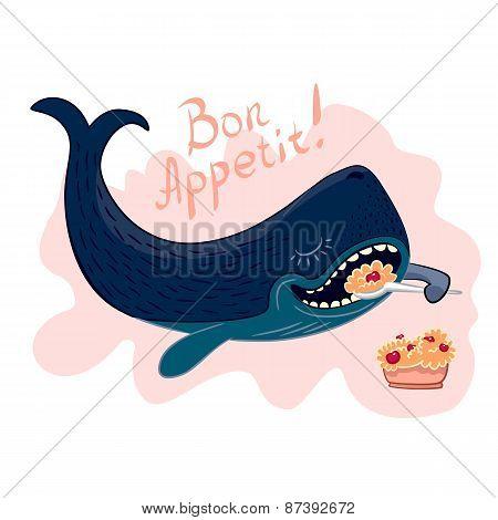 Bon Appetit. Whale And Porridge.