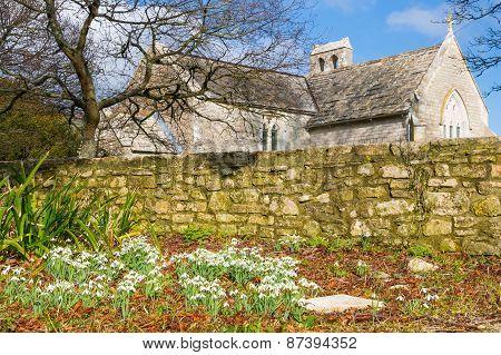 Tyneham Dorset England