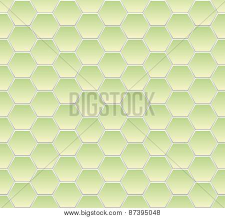 Hexagonal mosaic