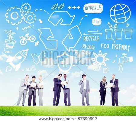 Recycle Reuse Reduce Bio Eco Friendly Environment Concept