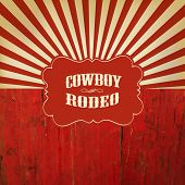 foto of wild west  - Wild West Rodeo Background - JPG