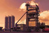 picture of slag  - Asphalt plant - JPG