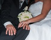picture of covenant  - Wedding rings to symbolize the covenant between bride and groom - JPG