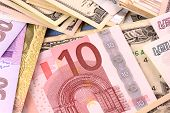 stock photo of american money  - European Money - JPG
