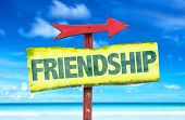 foto of bff  - Friendship sign with beach background - JPG
