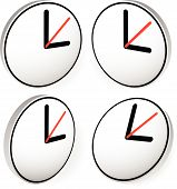 image of analog clock  - Clock Graphics Clock Icon - JPG
