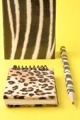 Animal Print Stationary poster