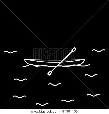 Canoe kayak boat light