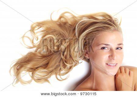 Beautiful Blonde Portrait