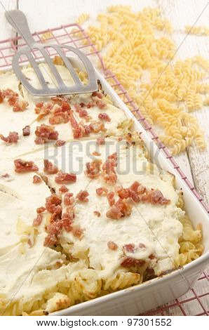 Authentic Hungarian Noodle With Cottage Cheese