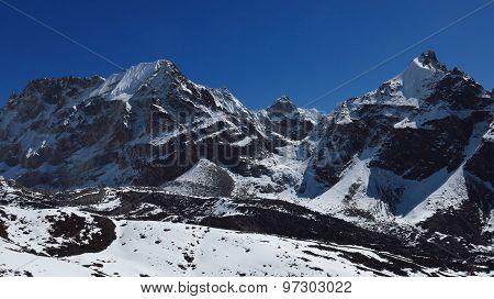 View Of The Cho La Mountain Pass