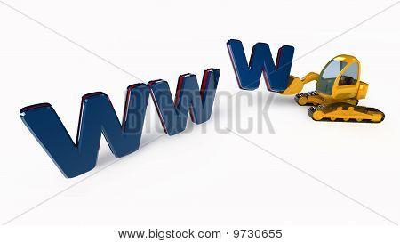 WWW Web en construcción