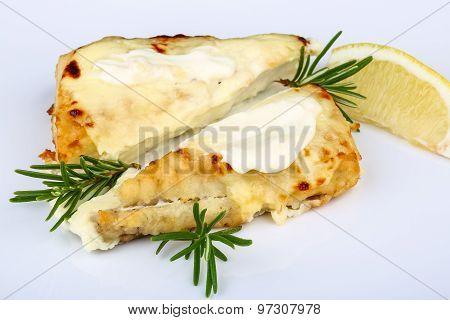 Baked Perch Fillet