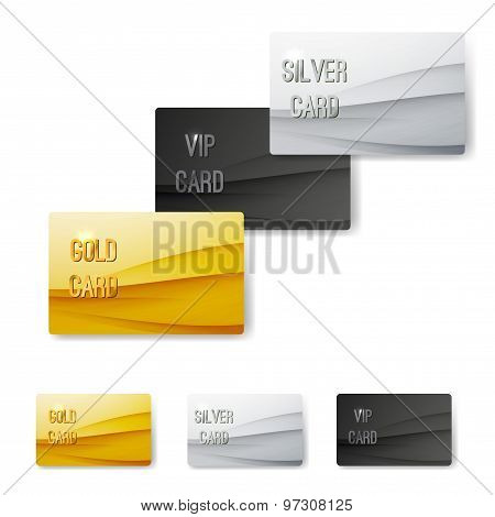 Premium Customer Member Wave Pattern Card