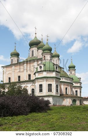 The Dormition Cathedral Of The Goritsky Monastery In Pereslavl-zalessky