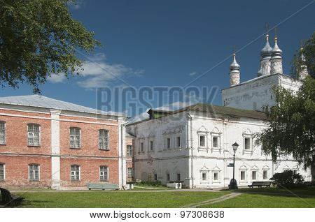 All Saints Church Of The Goritsky Monastery In Pereslavl-zalessky