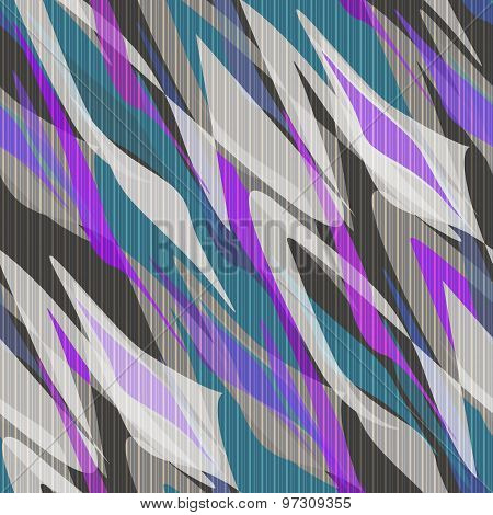 Seamless Pattern Abstract Modern Retro Background