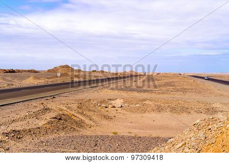 Eastern Desert Landscape In Egypt