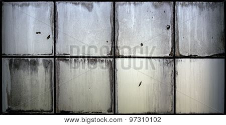 Grunge Glass Window