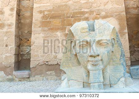 Head Statue Of Ramses Ii