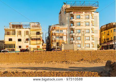 Buildings In Luxor, Egypt