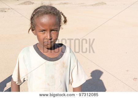 Sudanese Girl Portrait