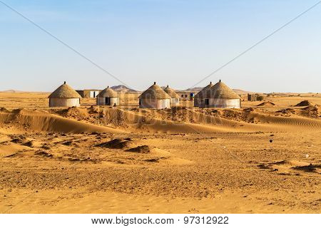 Nubian Village In Sudan