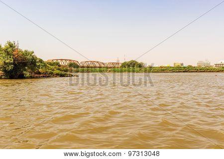 River Nile In Khartoum