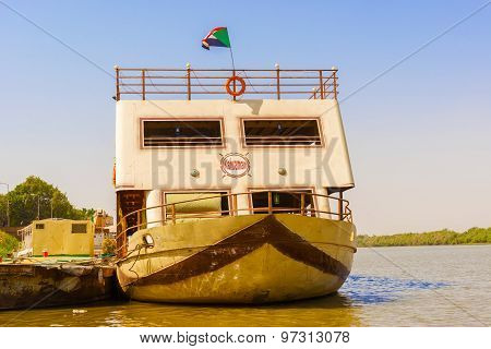 The Boat On The River Nile.