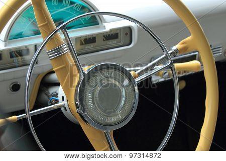 Retro  Car Interior (fragment)