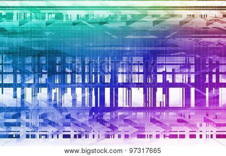 Digital Security Industry through Online Data Art