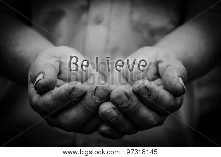 Believe In Hand