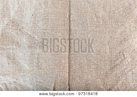 Texture of Sackcloth, sacking, bagging