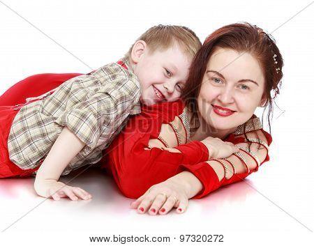 Boy to mom fondled