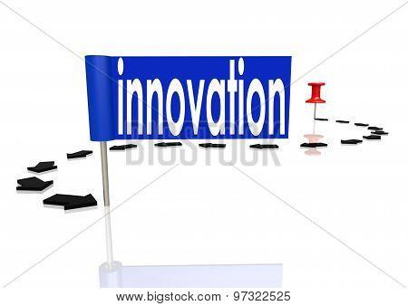 Push Pin To Innovation