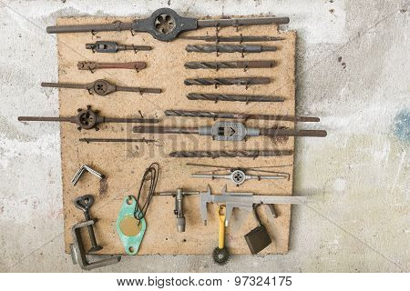 Old Work Tools