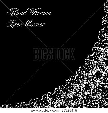 Decorative Lace Corner