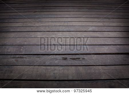 Wooden Boards Floor.