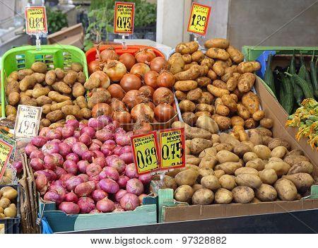 Potato And Onion